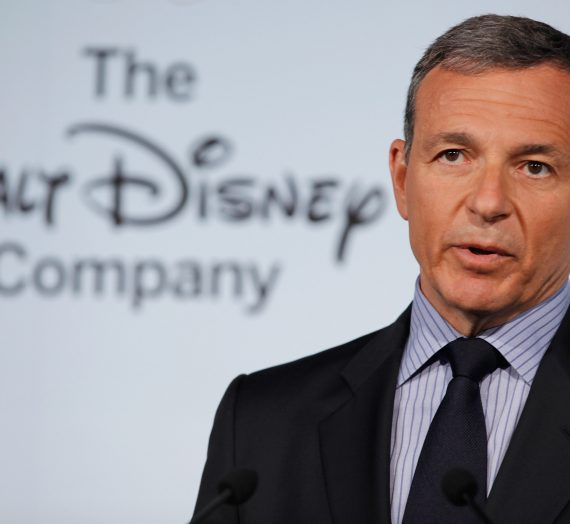 Time's Business Person of the Year is: Bob Iger