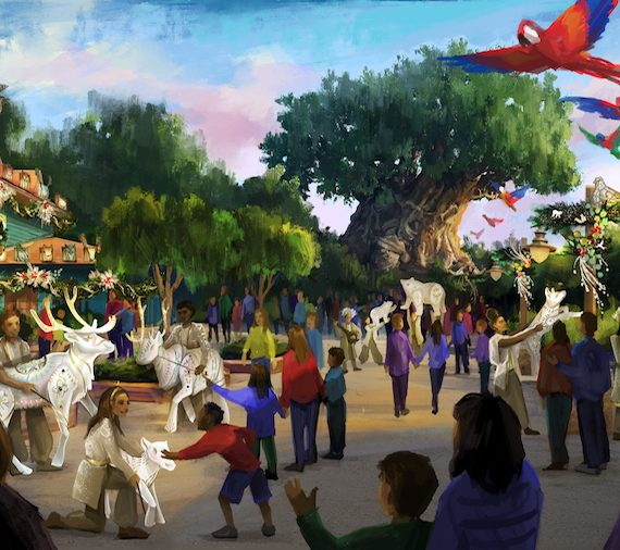 The Magic of the Holidays comes to Disney's Animal Kingdom