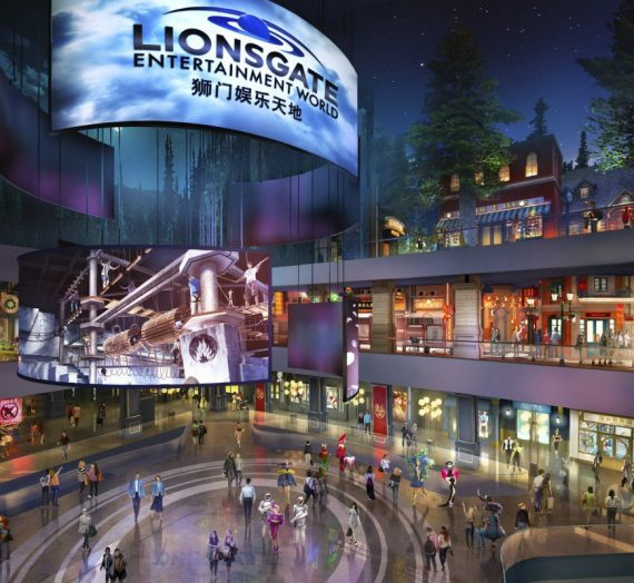 New Theme Park with Hunger games & Twilight Attractions