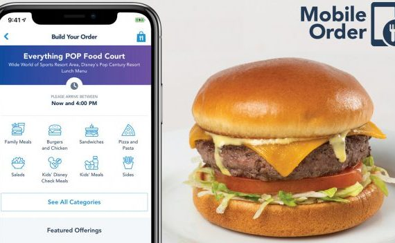 Select Walt Disney World Resorts Getting Mobile Order Feature