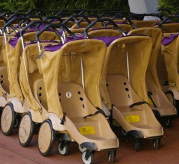 Disney's Animal Kingdom Testing New Stroller Rentals