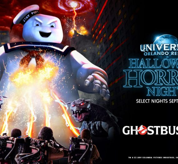 Halloween Horror Nights-Ghostbusters House Revealed