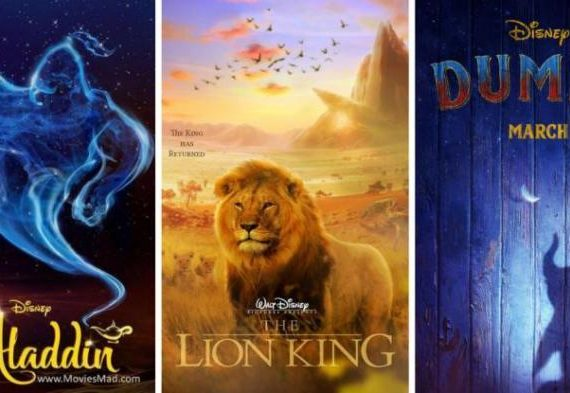 """Disney """"Live Action"""" Movies for the Next Year"""