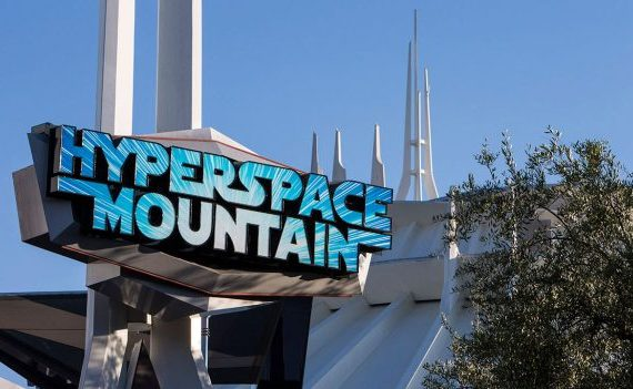 Hyperspace Mountain To Remain at Disneyland Through Halloween