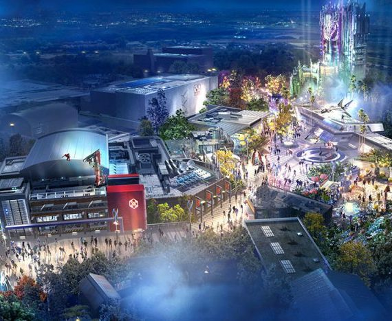 Disney Parks Panel D23 Expo: Marvel and Avengers Campus
