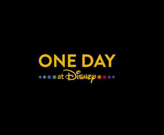 One Day At Disney Book and Multi-Part Documentary