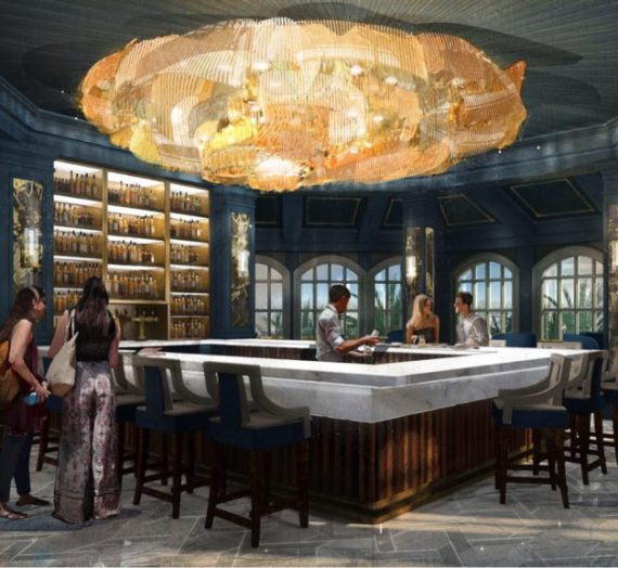 Details on Enchanted Rose Lounge at the Grand Floridian