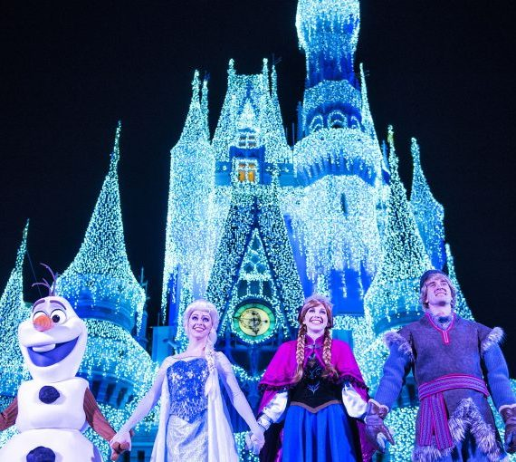 A Frozen Holiday Wish Begins November 3rd
