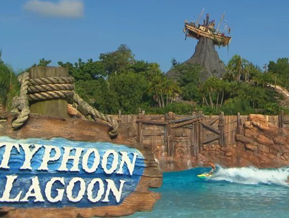 Typhoon Lagoon Closed Today Due to Weather