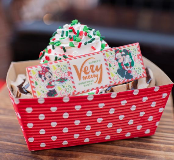 Exclusive Party Treats and Novelty Items coming to Mickey's Very Merry Christmas Party