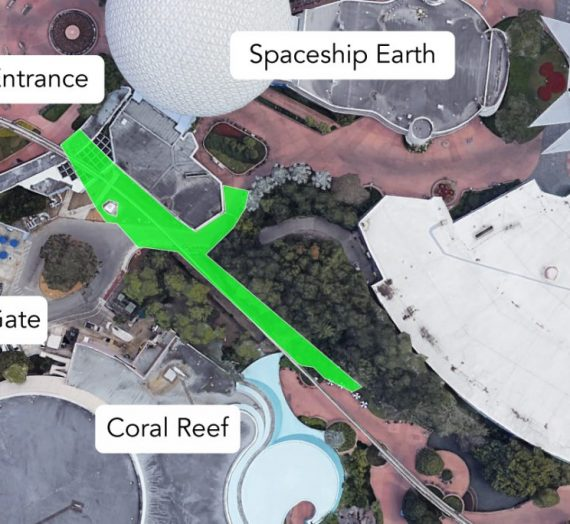 New Walkway Available at Epcot