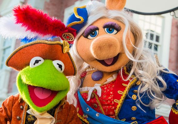 The Muppets Return to Liberty Square for Presidents Day