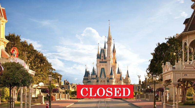 Disney World Closed