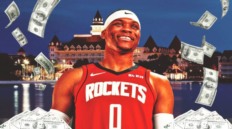 NBA player russell westbrook